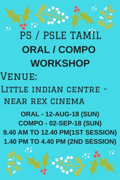 Oral and compo wshop-12-Aug and 02-Sep-18